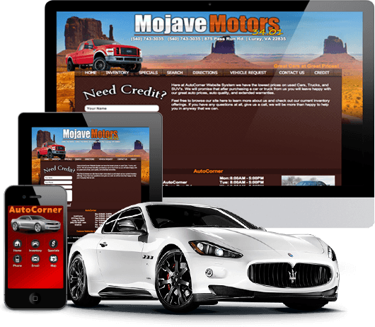 Used Car Dealer Website System Features